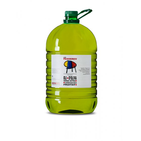Garrafa 5 litres d'oli...