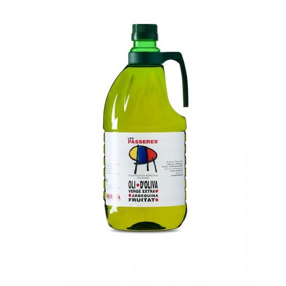 Garrafa 2 litres d'oli...
