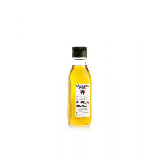 Ampolla 1/4 litre d'oli d'oliva DOP Siurana.