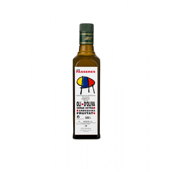 Ampolla 1/2 litre d'oli...